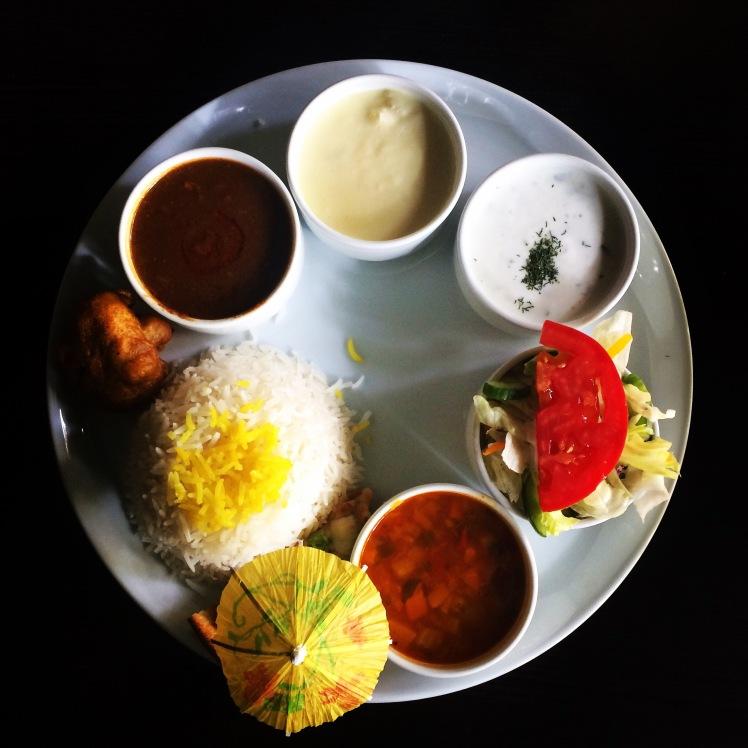 Lunch w Teheranie