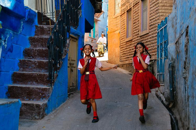 Droga ze szkoły, Jodhpur, fot. Asia