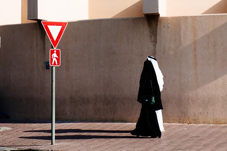 Typowa para z Dubaju (fot. Kuba Głębicki)