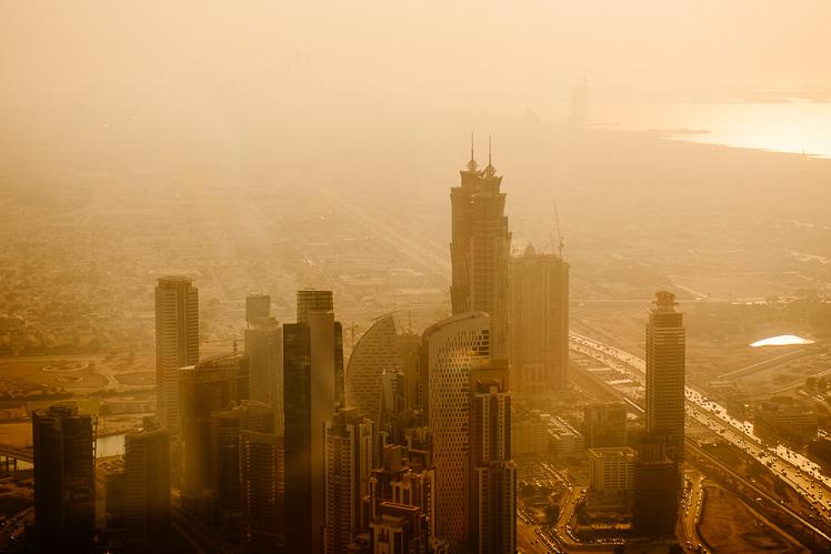Smog nad miastem (fot. Kuba Głębicki)