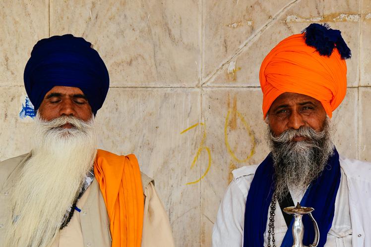 Sikhów dwóch (fot. Asia)