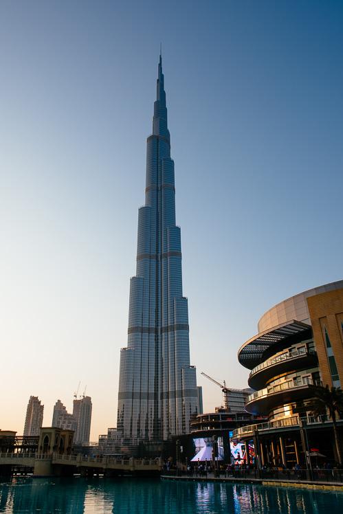 Wieża jest fajna. Bilety najlepiej kupić przez internet, kosztują 125 dirhamów od osoby (około 130 zł)