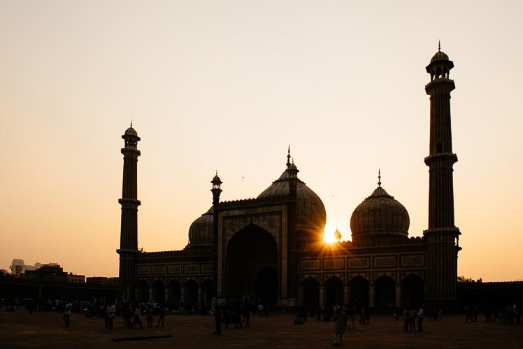 Jama Masjid, Delhi (fot. Kuba Głębicki)