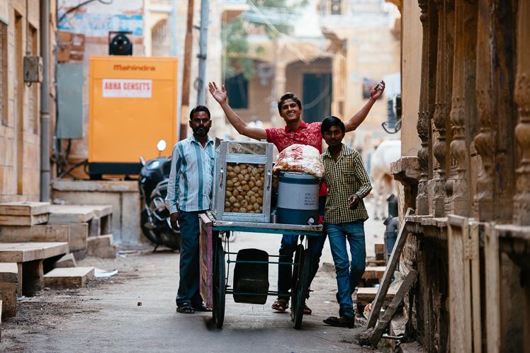 Welcome to India! (fot. Kuba Głębicki)