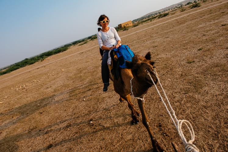 Bardzo mi dobrze na moim camelu! (fot. Kuba Głębicki)