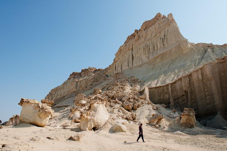Krajobraz wyspy Qeshm, fot. Kuba Głębicki