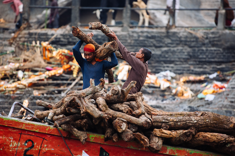 Burning ghat, fot. Kuba Głębicki