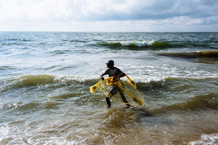 Rybak z okolic Negombo, fot. Kuba Głębicki