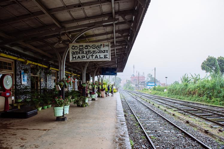 Dworzec w Haputale, fot. Kuba Głębicki