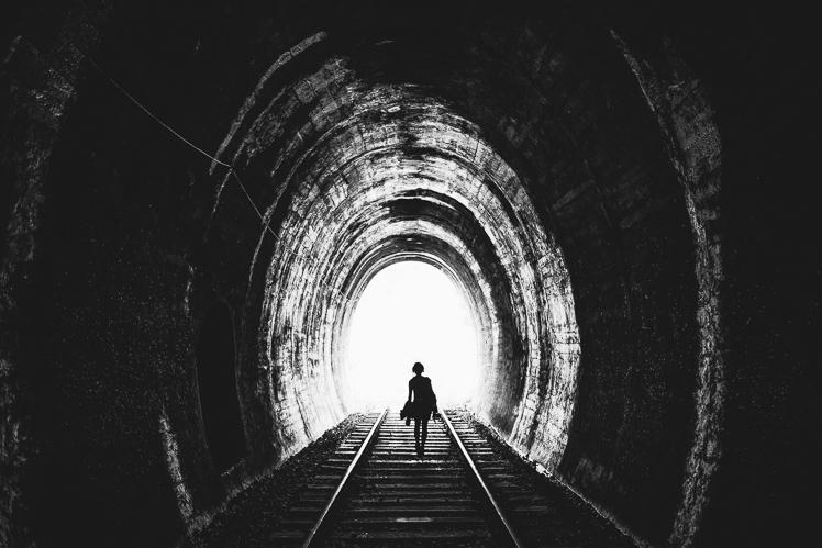 W tunelu, fot. Kuba Głębicki