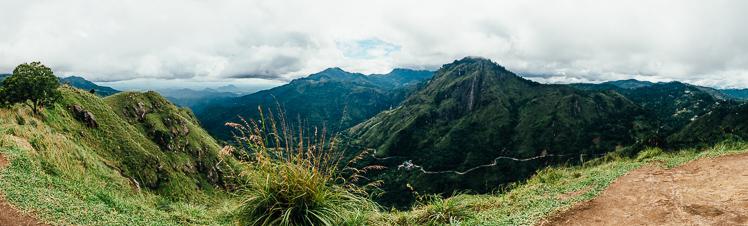 Widok z Little Adam's Peak, fot. Kuba Głębicki