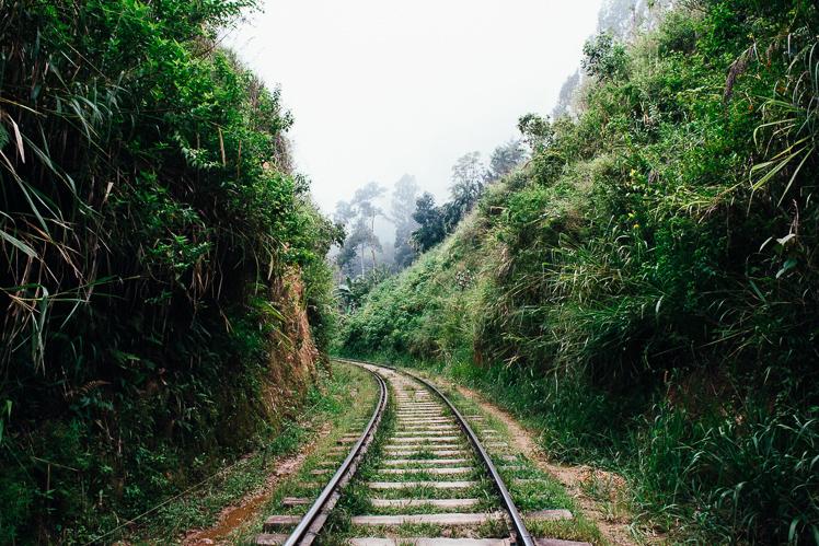 Walk the rails, fot. Kuba Głębicki