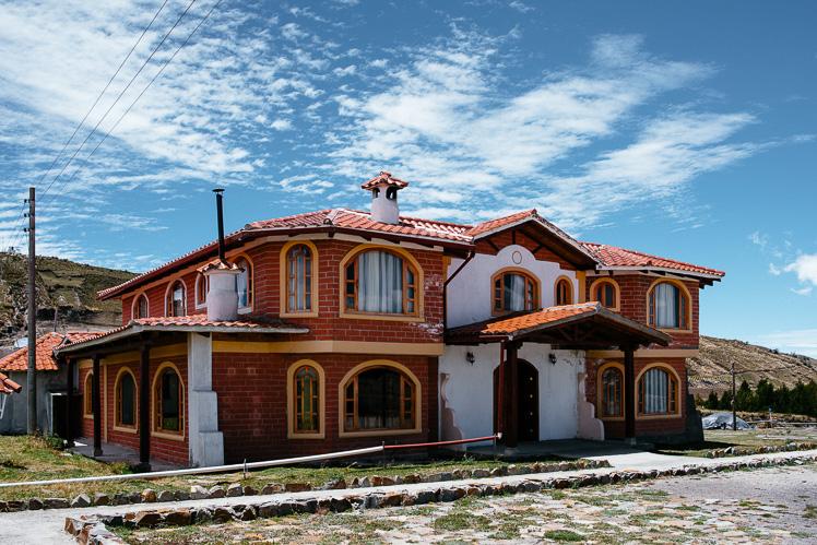 Nasz hotelik w Quilotoa