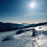 Śnieżka i Karkonosze od świtu do zmierzchu