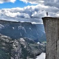 Norwegia I. Preikestolen