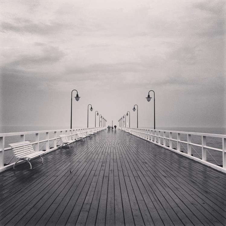 Molo w Gdyni-Orłowie