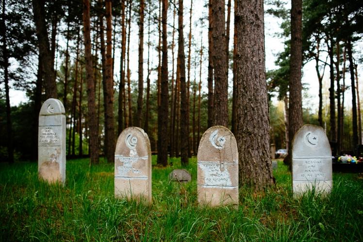 Cmentarz muzułmański, fot. Kuba Głębicki